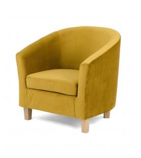 Fotel Kubełkowy Tiffany Plusz